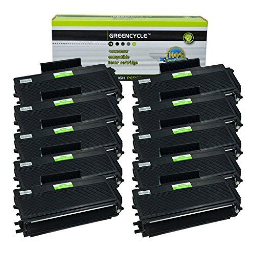 GREENCYCLE 10 Pack TN650 TN-650 Black Toner Cartridge Compatible For Brother HL-5350DN MFC-8370 HL-5380DN Laser Printer (10 Pack, (Hl 5350dn Laser Printer)