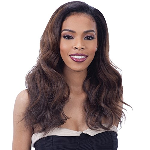 Drawstring Synthetic (POLY GIRL (OT30) - Freetress Equal Synthetic Drawstring Full Cap Half Wig)