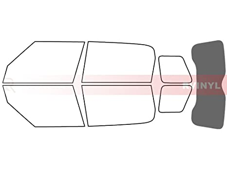 Rtint Window Tint Kit for Mini Countryman 2011-2018 Complete Kit 20/%