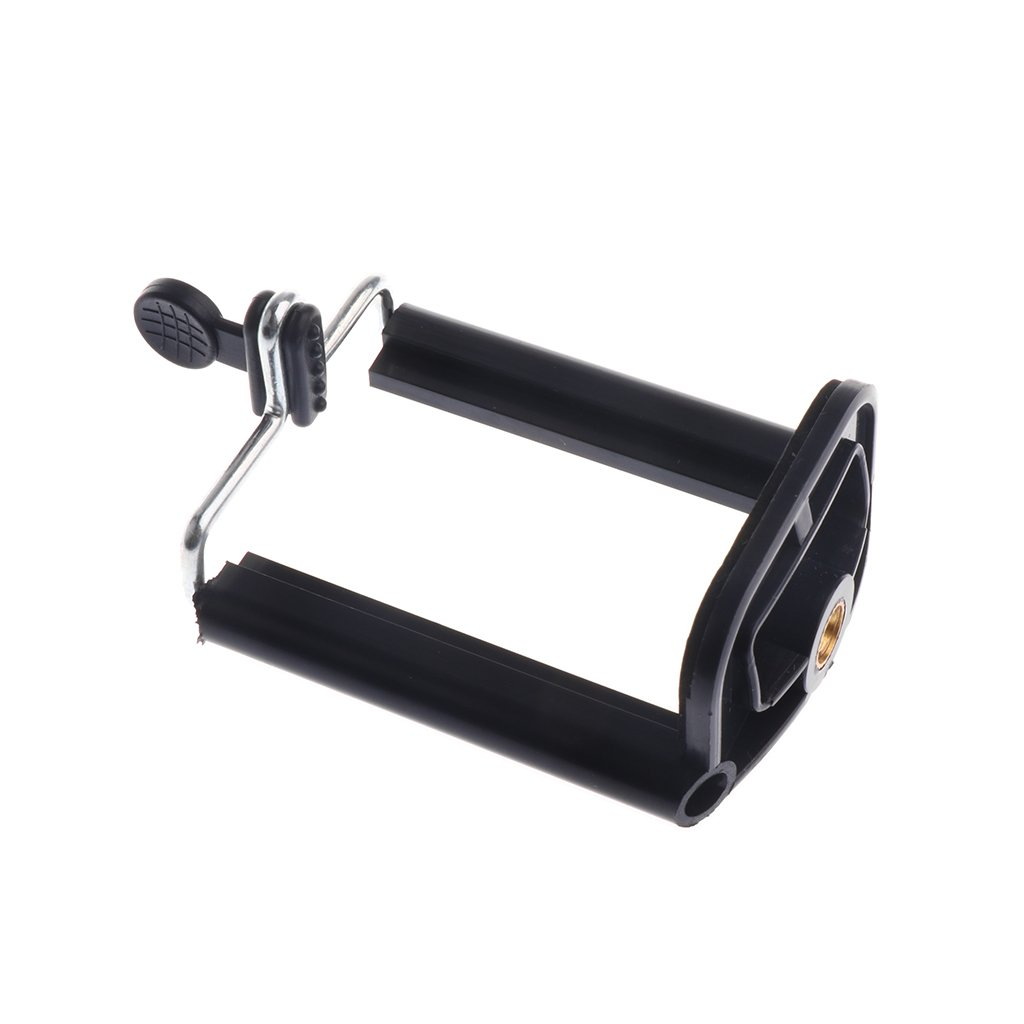 MonkeyJack Stand Clip Bracket Holder Monopod Tripod Mount Adapter for Selfie Stick for Phone Camera iPhone X/ 8/8 Plus 7/ 7 Plus/ 6S/ 6S Plus, Galaxy S7 Edge/ S7 / S8 / S8+ S8 Plus,G6 by MonkeyJack (Image #3)