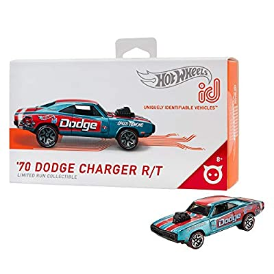 Hot Wheels id '70 Dodge Charger R/T {Speed Demons}: Toys & Games