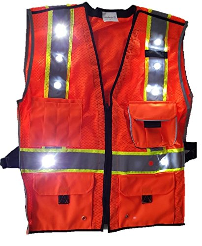 HIGH VISIBILITY VEST COMPLIANT REFLECTIVE product image
