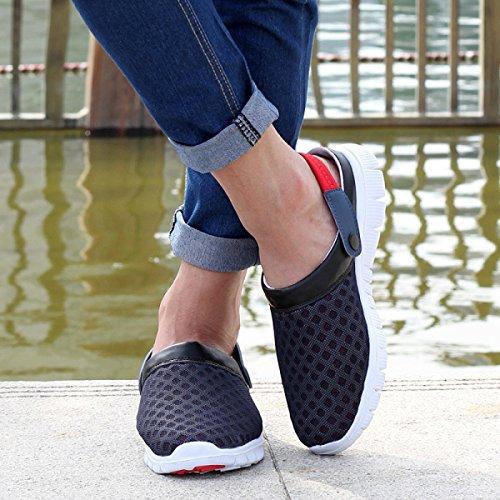 Emigran Los Deportivas Que Secado Verano Dos Usos Zapatillas Rápido De Sandalias Playa Red Zapatos LXXAUnisex Acoplamiento Respirable RxPFwzvzXq