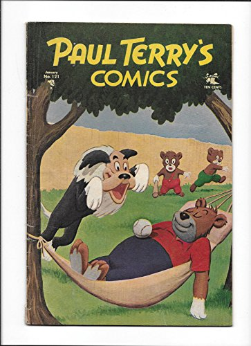 PAUL TERRY'S COMICS #121 [1955 VG] BASEBALL COVER