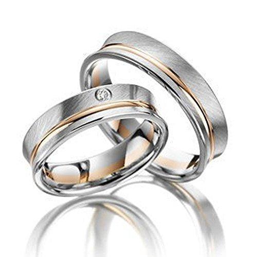Confíes anillos/amigo anillos/compromiso anillos/anillos de boda/oro/bicolour
