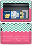 "Kindle Fire HDX 8.9"" Decal/Skin Kit, Live Laugh Love"
