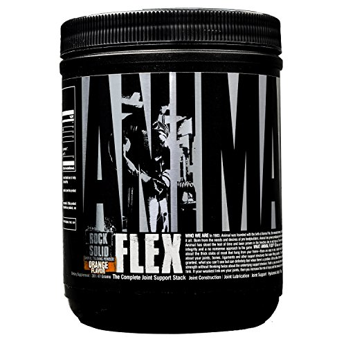 Universal Nutrition Animal Flex Powder Complete Joint Support Supplement, Orange