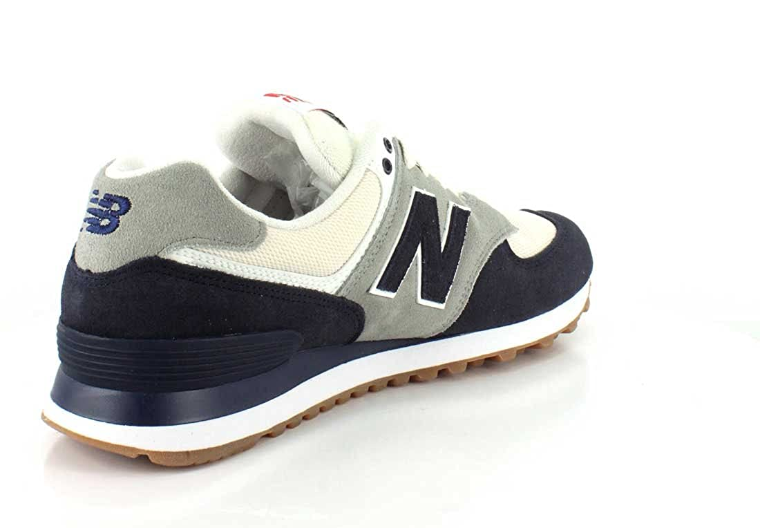 New Balance Herren Ml574 Sneaker Blau