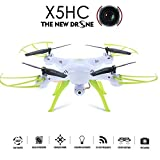 GoolRC SYMA X5HC 2.0MP HD Camera Drone with 3D Flip Headless Mode High Hold Mode RC Quadcopter