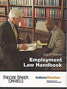 Paperback Employment Law Handbook: Indiana and Federal Employment Law Book