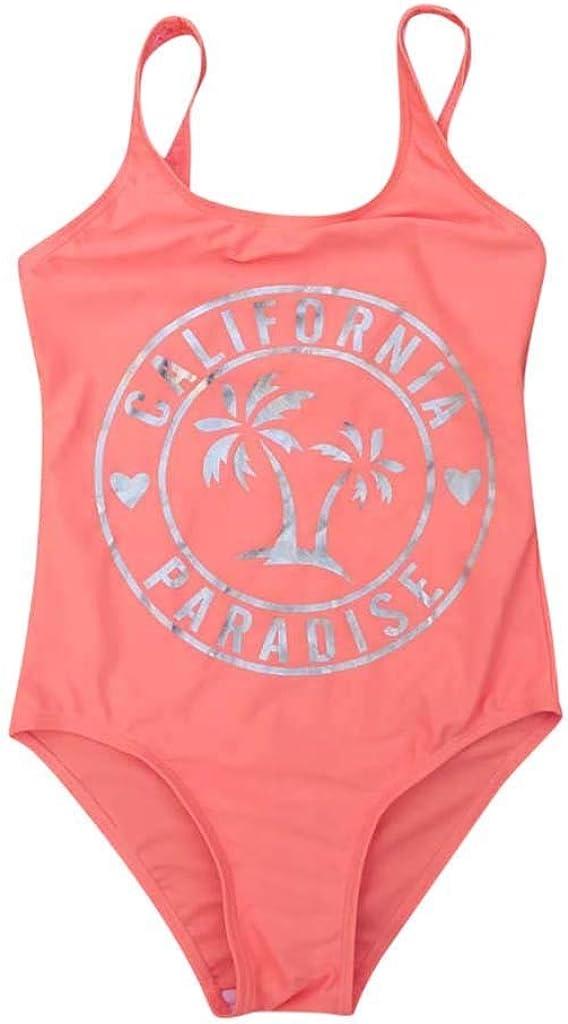 YWLINK BañAdor De Una Pieza para NiñA Traje De BañO Casual Transpirable De ProteccióN Solar De Playa Bikini Regalo De Verano