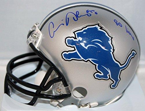 Louis Delmas Detroit Lions Autographed Mini Helmet