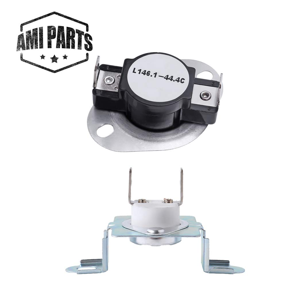 279973 Dryer Thermostat Thermal Cut-Off Fuse Kit Compatible with Whirlpool & Kenmore Dryer - Replaces 3391913 8318314 AP3094323 by AMI PARTS