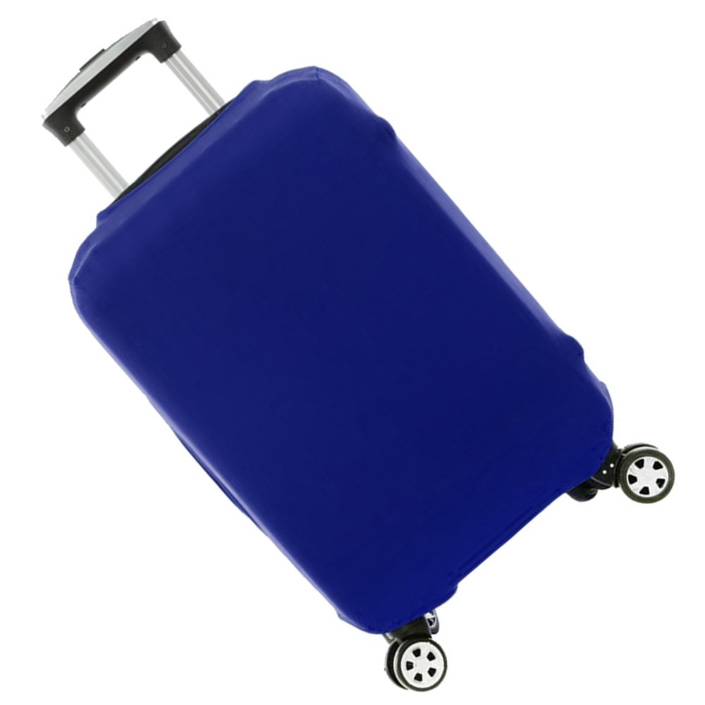 FanaticalPurchase Travel Luggage Protector Suitcase Cover Fits 18-30 Inch (26-30, Blue)