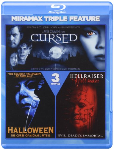 Cursed / Hellraiser: Hell Seeker / Halloween VI [Blu-ray]