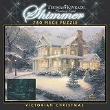 : 750 Piece Thomas Kinkade Shimmer-Victorian Christmas