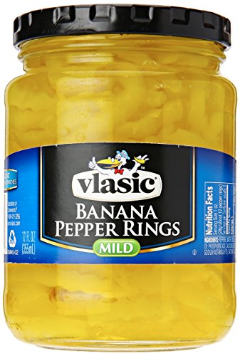 Vlasic Banana Pepper Rings, Mild, 12 oz (Pepper Rings)