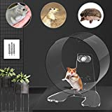 Zacro Hamster Exercise Wheel - 8.7in Silent Running Wheel for Hamsters, Gerbils, Mice and Other Small Pets