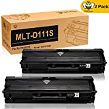 Toner Cartridges MLT-D111S CMYBabee Replacement for MLT-D111 D111S 111S Compatible for Samsung 111 Xpress SL-M2020 SL-M2022 L-M2026 SL-M2070 SL-M2020W SL-M2022W SSL-M2026W SL-M2070FW SL-M2070W Printer