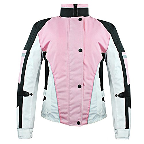 Snow Master Womens Blizzard Insul Tex Pink Cold Weather Motorcycle/Snowmobile J - X-Large