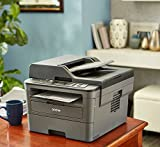 Brother Monochrome Laser Printer, Compact Multifunction Printer and Copier, DCPL2550DW, Wireless Printing, Duplex Printing, Mobile Printing, 50-Sheet Document Feeder, Amazon Dash Replenishment Enabled