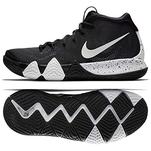 newest 84ad4 6e55b Nike Kyrie 4 TB AV2296 001 Black White Men