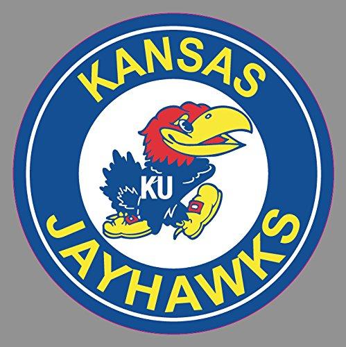 Kansas University Jayhawks Sticker for Cars | 6