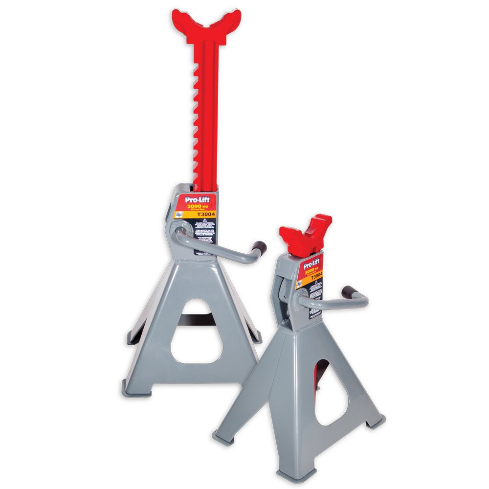 Pro-Lift T3004 Extra High Jack Stand Ratchet, 2.25 t Capacity