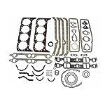 ENGINE PRO Chevy SBC Overhaul Gasket Set Kit 265 283 302 307 327 350 5.7L 2 Piece Rear Seal