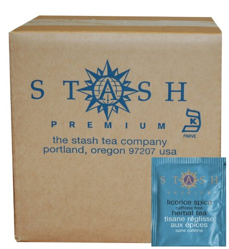 Stash Tea Licorice Spice Herbal Tea, 100 Count Box of Tea Bags in Foil (packaging may vary) Licorice Spice