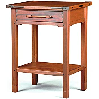 Build your own aurora end table plan american furniture for Build your own nightstand