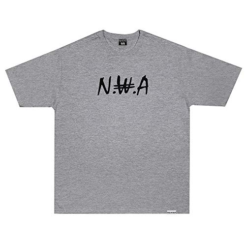 Camiseta Wanted - NWA v2 cinza Cor:Cinza;Tamanho:XG