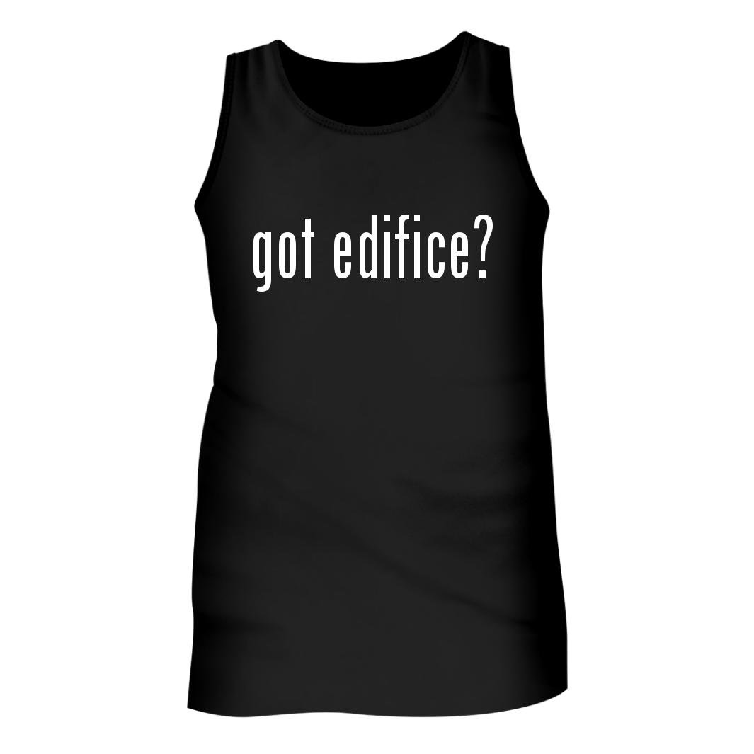 Tracy Gifts Got edifice? - Men's Adult Tank Top, Black, X-Large by Tracy Gifts