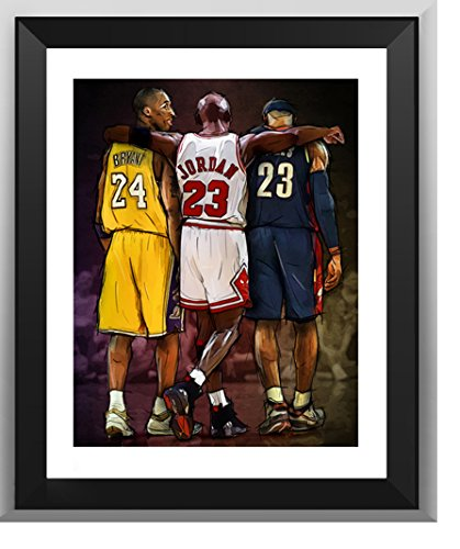 Poster LeBron James Collage Cavaliers 91,5 x 61 cm