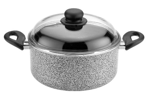 Caroni A300426 De Luxe Dutch-Oven with Glass Lid, 2 10.32-Inch