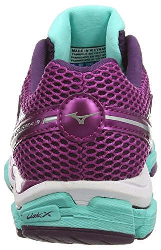 5 Purple Enigma Silver Wave Shoes Aster Wild Mizuno Running Women's OEYqwBRS