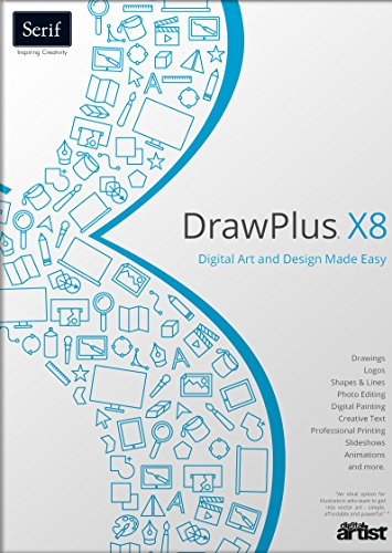 US Serif Software DrawPlus X8 - Graphics Software