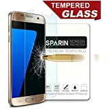 SPARIN Tempered Glass Scratch-resistant Screen Protector for Samsung Galaxy S7 (2 Pack)