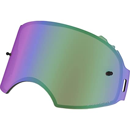 0c3dcc805f Amazon.com  Oakley Airbrake MX Adult Replacement Lens Off-Road Motorcycle Goggles  Accessories - Prizm MX Jade Iridium One Size Fits All  Automotive