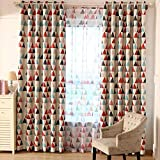 64 panel curtain - Curtains Blackout - Cute Owl Pattern Tulle Window Contracted Curtains Blackout Living Room Bedroom Decor Random Color - Arrows Grommet Tulle Thermal For Ivory 64 Pink Rod Purple