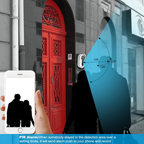 Video Doorbell Wi Fi Wireless Connect Smart Talk To