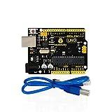 KEYESTUDIO UNO R3 Board Compatible Arduino UNO R3 Board Arduino IDE+USB Cable