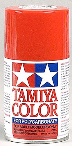 Tamiya Polycarbonate PS-34 Bright Red Spray Paint