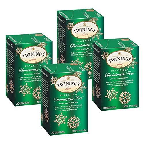 Twinings Christmas Tea – 20 count (4 PK)