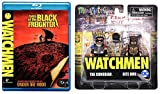 D.C. Universe's Watchmen It's a joke, It's all a ... JOKE Comedian Blu-Ray Bundle: Watchmen MiniMates (The Comedian/ Nite Owl) & Watchmen Tales of the Black Freighter