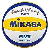 Mikasa Unisex's VLS-300 Beach Volley Ball-Blue, 5