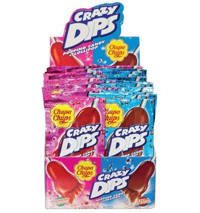 - Crazy Dips Strawberry Cola 16G x 24