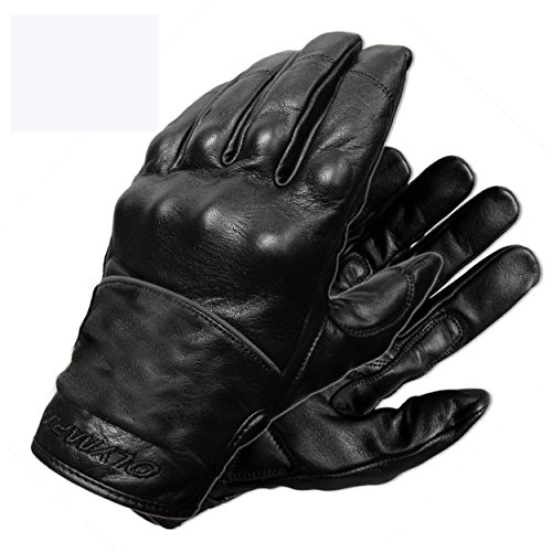 Olympia Sports Men's Full Throttle Gloves (Black, Large) (Gel Olympia)