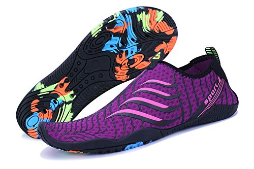 Natation violet Surf Plongée Et Pour Plage 3 Chaussures Ummaid Homme Aquatique Sport Femme Piscine xTPzSaqOw