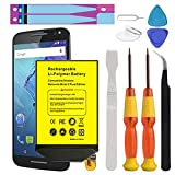 [Upgraded] Moto X Pure Battery, Euhan 3200mAh Rechargeable Li-Polymer Battery FX30 SNN5964A Replacement for Motorola Moto X Pure Edition XT1572 XT1575 Style+Repair Replacement Kit Tools